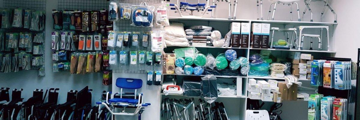 Sprzęt ortopedyczny, rehabilitacyjny i sprzęt medyczny oraz artykuły