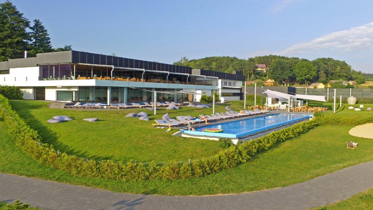 Domek Słoneczny*19 z atrakcjami Lemon Resort SPA, nad Jeziorem Rożnowskim.