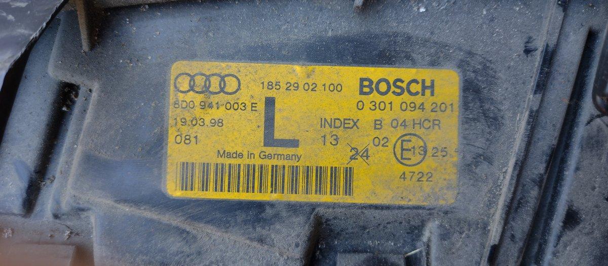 Lampa Lewa Audi a4 b5 94-98